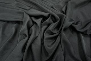 Крепдешин шелковый черный PRT-A3 12031806