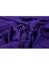 Шелковый дабл-креп фиолетовый PRT1-I5 27021809