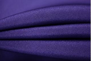 Шелковый дабл-креп фиолетовый PRT1-D3 27021809