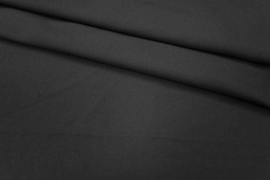 Костюмно-плательная вискоза черная PRT1-C4 11041823