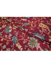 Штапель креповый цветы LEO-B2 11071802