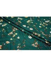 Штапель-сатин цветочный LEO1-B2 11071803