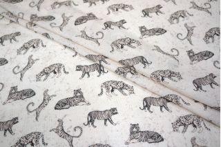 Тонкая вискоза тигры-леопарды LEO-B2 11071807