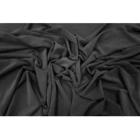 Холодный трикотаж креповый черный PRT1-I3 15031802
