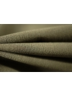 Холодный трикотаж креповый хаки PRT1-I3 15031805