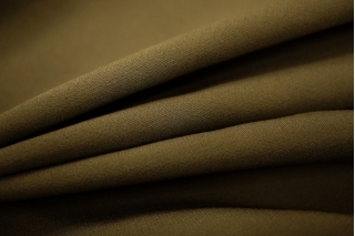 Вискоза костюмно-плательная двухслойная хаки PRT-N2 18061805