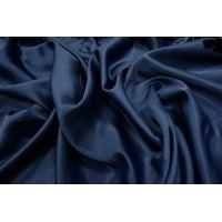 Вискозный атлас темно-синий PRT-M5 18061821