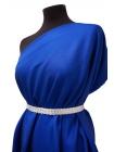 Хлопок костюмно-плательный синий PRT-N2  27021815