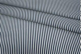 Хлопок полоска сине-белая UAE-B6 19011801