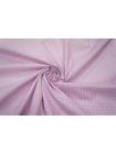 Хлопок-стрейч рубашечный полоска лилово-белая UAE-B4 19011811