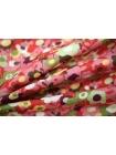 Хлопок цветы розовые UAE1 072-C6 19011813