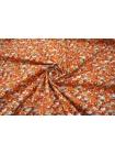 Хлопок цветы оранжевые UAE-C6 19011823