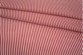 Хлопок полоска красно-белая UAE-B6 19011803