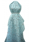 Хлопок девушки на голубом UAE-B4 19011805