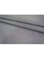 Хлопок-стрейч рубашечный полоска черно-белая UAE-I5 19011809
