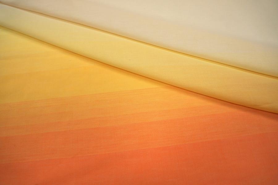 Хлопок деграде оранжевый КУПОН PRT-I2 18041822