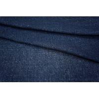 Трикотаж шерстяной темно-синий PRT1-R4 20031801