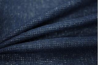 Трикотаж шерстяной темно-синий PRT 20031801