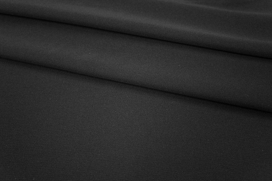 Джерси вискозный черный PRT1-P3 19031805