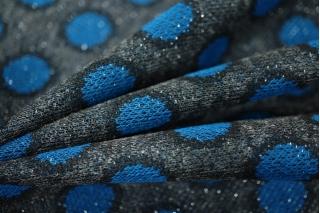 Трикотаж вискозный горошек с люрексом PRT-P4 19031807