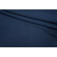 Трикотаж вискозный темно-синий PRT 19031808