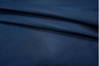 Плательный шелк с вискозой темно-синий PRT A3 21031801