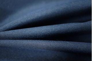 Плательный шелк с вискозой темно-синий PRT-D5 21031801