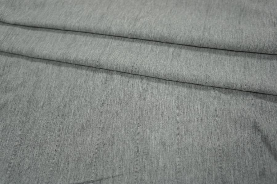 Трикотаж вискозный серый PRT1-R3 21031810