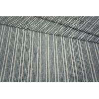 Трикотаж с люрексом в полоску серый-белый PRT 21031813
