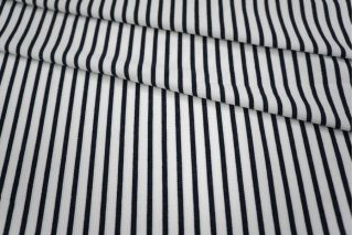 Трикотаж белый в полоску синюю PRT-R4 21031824