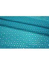 Шитье хлопок голубая бирюза LEO-F5 21051808