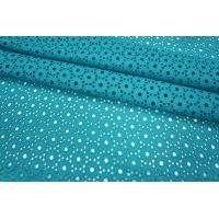 Шитье хлопок голубая бирюза LEO-B3 21051808