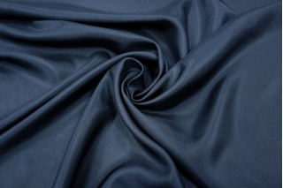 Шелк подкладочный темно-синий LEO-C5 21051811