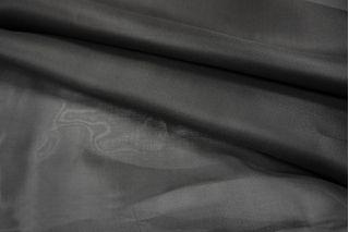 Шелковая органза черная LEO-D3 21051817