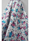 Джинс-стрейч цветы UAE-B4 23011810