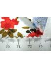 Джинс-стрейч цветы UAE-B4 23011812