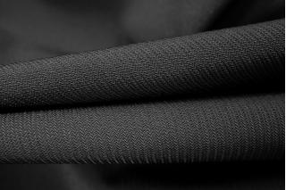 Поливискоза костюмная черная PRT-M4 23071802