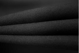 Вискоза костюмно-плательная черная PRT-M3 25061806