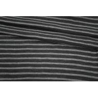 Хлопок в полоску черно-серый PRT-P2 25061808