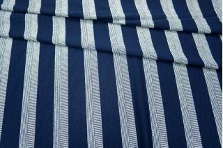 Трикотаж вискозный синий в полоску PRT-K4 23031803