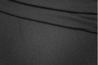 Трикотаж хлопковый черный PRT-Q3 23031804