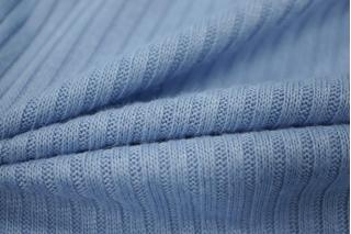 Трикотаж лапша голубая сирень PRT-D7 26021801