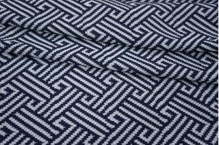 Трикотаж геометрия сине-белая PRT-Q5 26031804