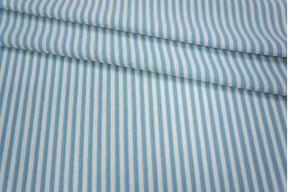 Трикотаж полоска бело-голубая PRT-Q3 26031812