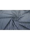Трикотаж геометрия сине-белая PRT-K4 26031815