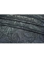 ОТРЕЗ 1.35 М Шелк с люрексом темно-синий LEO-D5 25051814-1