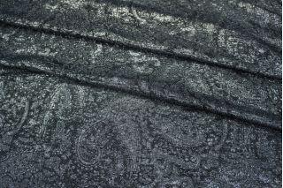 Шелк с люрексом темно-синий LEO-B3 25051814