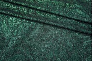 Шелк с люрексом изумруд LEO1-B3 25051816