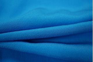 Крепдешин шелковый сине-голубой PRT-J2 31051801