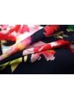 Штапель цветы на темно-синем UAE-D2 26011804